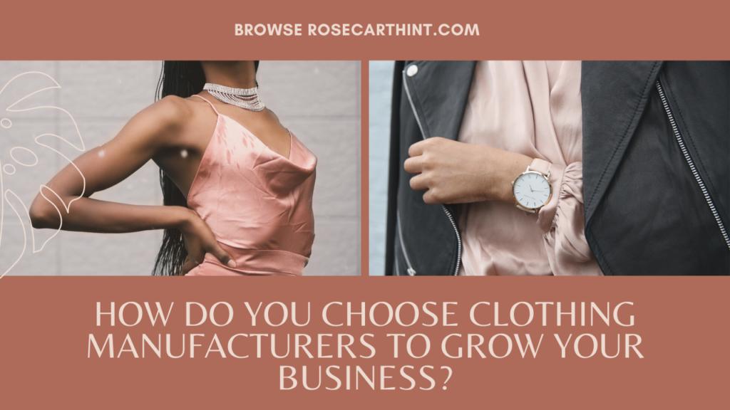 UK Clothing Manufacturers